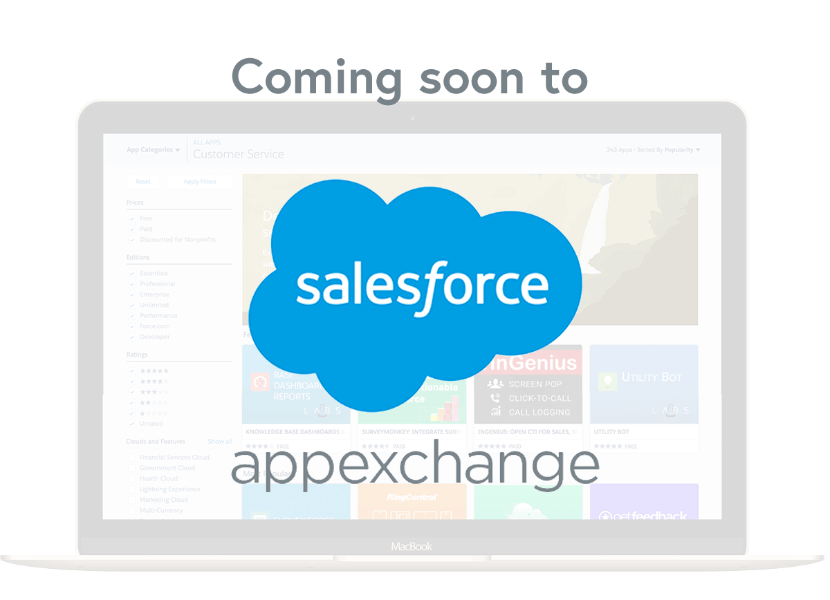 Salesforce - Coming soon