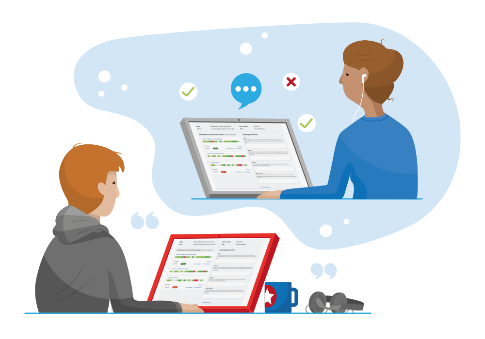 Effectively maintain service quality with remote teams