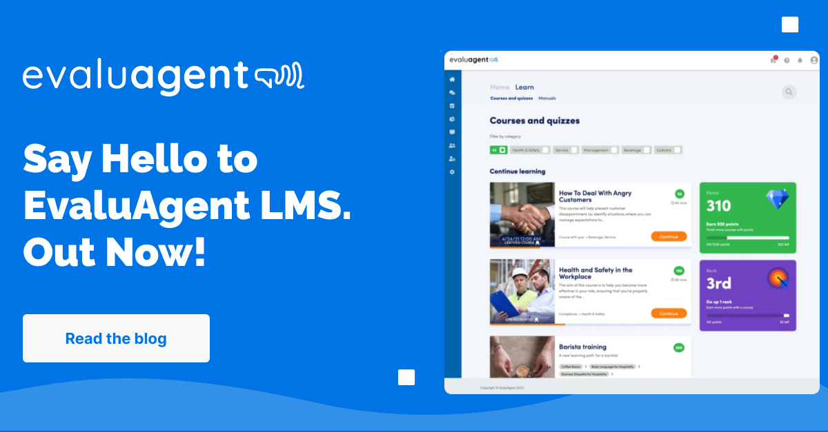 EvaluAgent LMS - Integrated eLearning for your Contact Centre